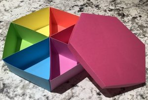 How to Make a Rainbow Paper Box
