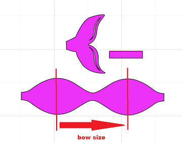 bow size