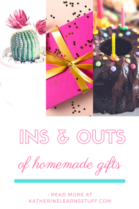 ins and outs of homemade gifts pin 1