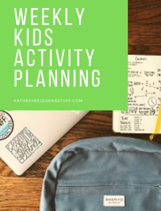 How to Create a Weekly Kids Activity Plan