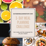 meal planning challenge pin