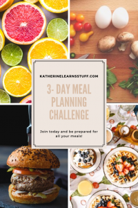 Join the 3-Day Meal Planning Challenge