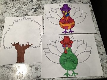 autumn leaves coloring sheets