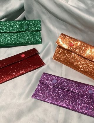 How to Make a Faux Leather Clutch