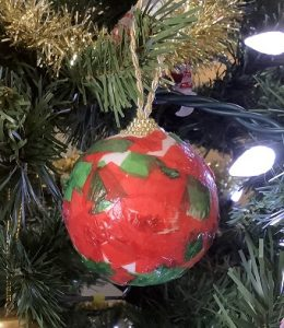 easy modpodge ornament