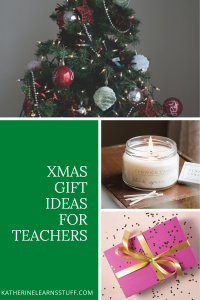 xmas gifts for teachers pin