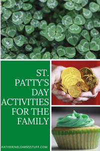 St Patty's Day Activities pin