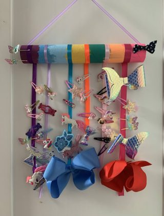 Hair Clip Holder – How To Make One