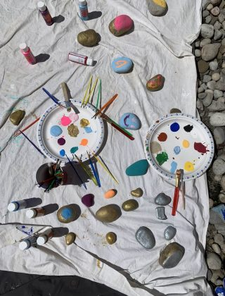 Make Your Garden Oasis More Vibrant With Painted Rocks