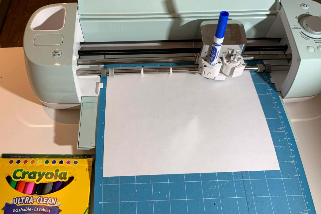Crayola Broad Line Markers use in Cricut