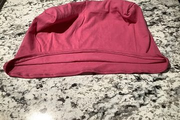 laundry bag top seam